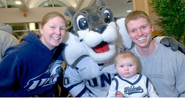 Food, fun and hockey! Don't miss UNH Family Hockey Day in Durham on January 17.