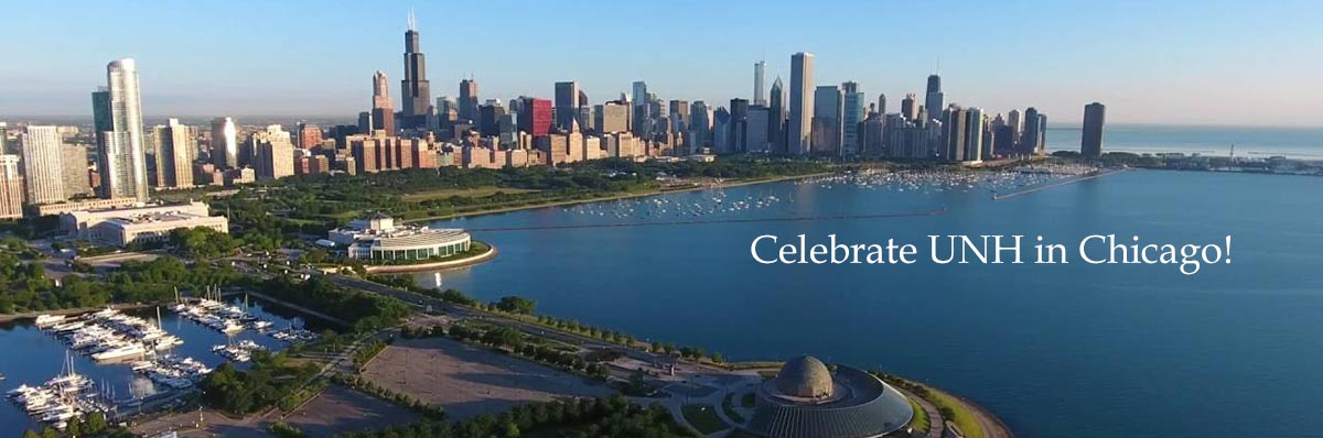 Join Chicago area alumni and friends on May 11 to celebrate UNH's 150th anniversary. Don't miss it! Details >>