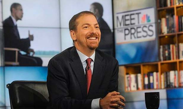 """Meet the Press"" moderator Chuck Todd will speak at the Field House on Wednesday, October 14. The event is free and open to the public. Register now!"