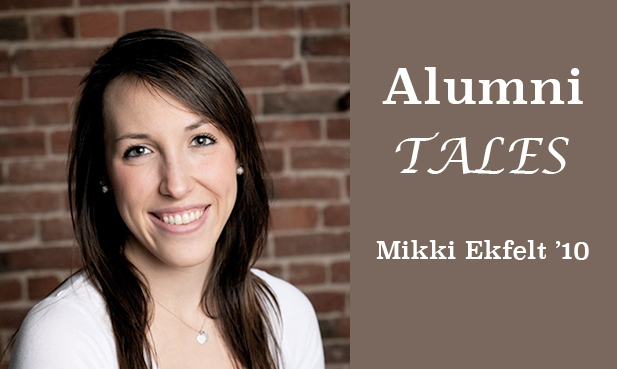 Read Mikki's story and many more. And submit your own Alumni Tale!