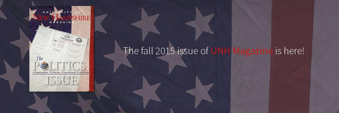 Read all about the university's place in the political landscape in the first of a series of themed issues.