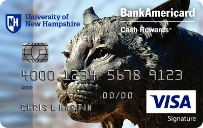 UNH Bank of America card